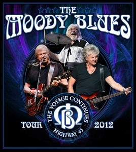 Moody Blues The Voyage Continues Highway 45 Tour